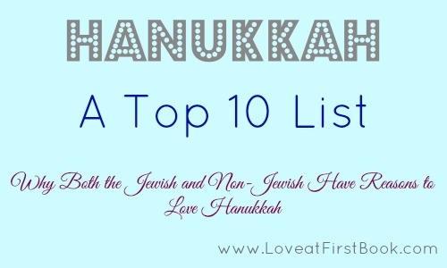 Hanukkah Top 10 via Love at First Book