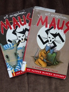 Maus I & II via Love at First Book