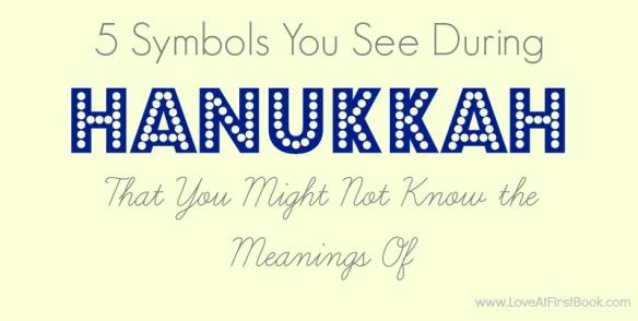Hanukkah Symbols via Love at First Book