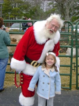 Santa Picture via Book-licious Mama