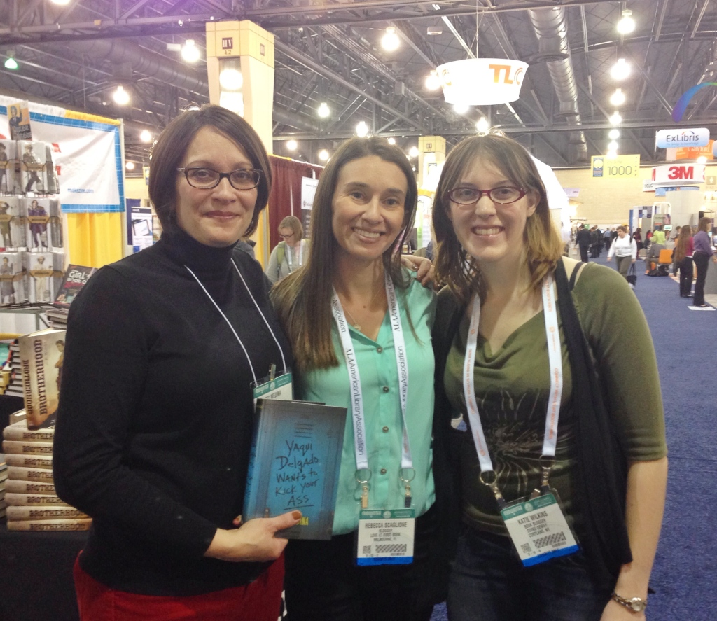 Meg Medina, Love at First Book, & Doing Dewey at ALAMW14